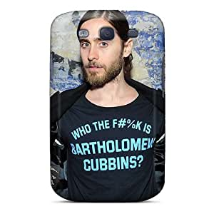Shock-Absorbing Cell-phone Hard Covers For Samsung Galaxy S3 (nwq20160mZAi) Support Personal Customs Realistic 30 Seconds To Mars Band 3STM Pattern