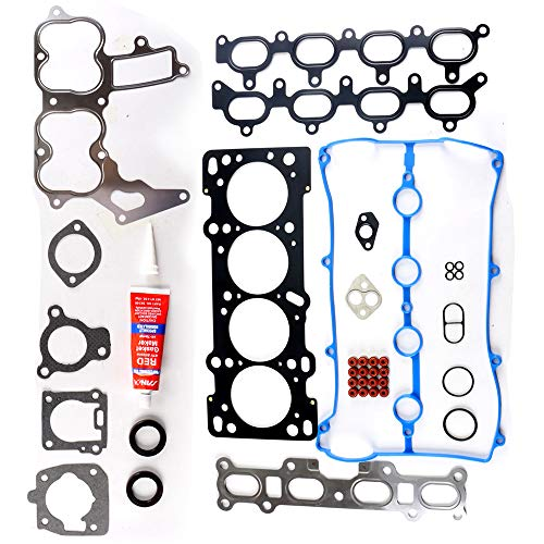 OCPTY Cylinder Head Gasket Set fits 90-00 Ford Escort/Mazda Miata Protege/Mercury Tracer Gaskets Kit Head Gasket Set