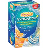 Cheap Emergen-C Hydration+ (18 Count, Orange Spritz Flavor) Sports Drink Mix with Vitamin C, Electrolyte Replenishment, 0.34 Ounce Packets