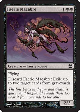 Magic: the Gathering - Faerie Macabre (86) - Modern Masters