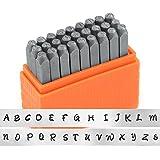 ImpressArt- Basic Bridgette Uppercase Letter Metal Stamp Set