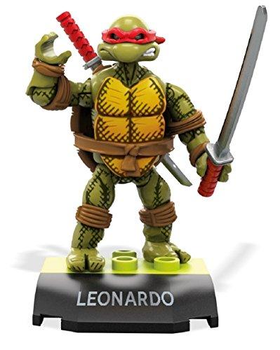 Mega Construx Heroes Teenage Mutant Ninja Turtles Leonardo Building Set
