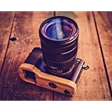 J.B. Camera Designs Pro Bamboo Grip-Base for Sony A7 A7r A7s - Handmade in the USA