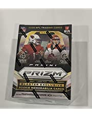 2020 Panini Prizm Sealed NFL Football Blaster Box - (6 Packs of 4 Cards) 24 Cards - Look for EXCLUSIVE Memorabilia Jersey cards from the top rookies. Look for Joe Burrow, Justin Herbert, Justin Jefferson, Chase Young and Tua Tagovailoa Rookies.