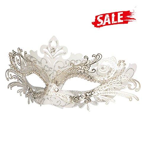 Hoshin Masquerade Mask, Mardi Gras Deecorations Venetian Masks for Womens -