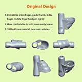 Pencil Grips for Kids,Firesara New Design Ergonomic Butterfly Wing and Fish Style Colored Pen Training Grip Holder Handwriting Claw Aid For Children or Kindergarten or Toddler or Lefties (9 PCS)