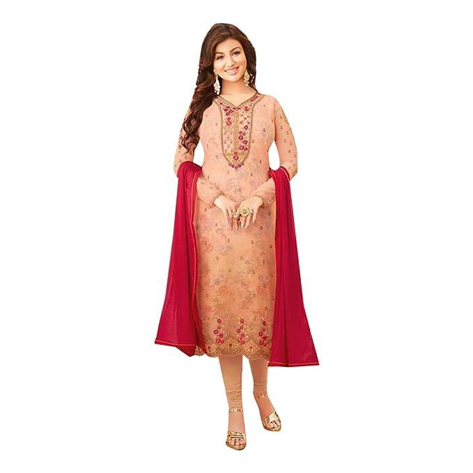 Amazon.com: Peach Bollywood Ayesha 7529 - Traje para mujer ...