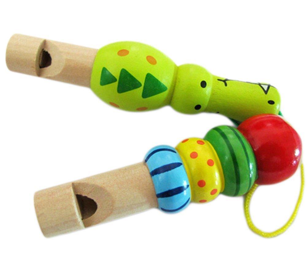 JUNGEN Sound Toys Whistle for Kids Animal Like in Random Color 8*3*1.4CM 1-Pack