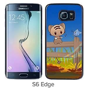 Popular Samsung Galaxy S6 Edge Cover Case ,Cute Xperia Z Wallpapers HD 90 Black Samsung Galaxy S6 Edge Phone Case Fashion And Unique Design Cover Case