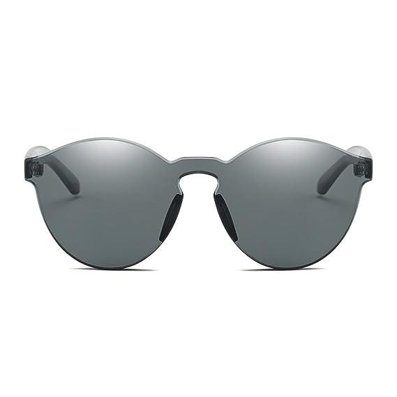 LAND-FOX Mujer Hombre Moda Marco grande Gafas de sol ...