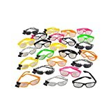 24Pc Nerd Glasses Assortment