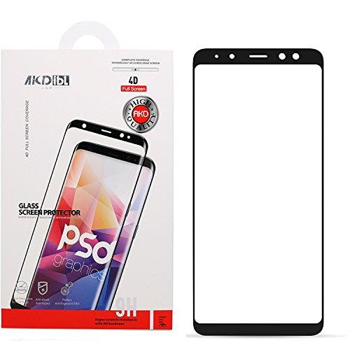 Galaxy A8 plus 2018 Screen Protector,0.33mm 3D...