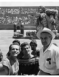 Ben-Hur Charlton Heston Stephen Boyd William Wyler on set 16x20 Poster