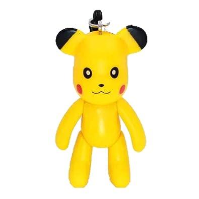 Pikachu - Llavero coleccionable de Pokémon de 7,6 cm, diseño ...
