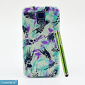 Galaxy S5 Case By Caseland Back Cover Soft TPU Freehand Scrawl Case For Samsung Galaxy S5 I9600