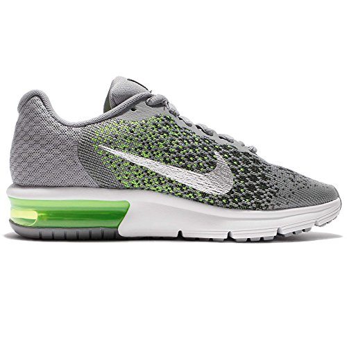 Nike Air Max Sequent 2 GS, Scarpe da Ginnastica Bambino Grigio verde