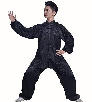 llh Hombres Tai Chi Ropa Camisa Mujeres Zen Meditación Traje Suave ...
