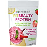 Dr. Phoenyx FitBeauty Protein and Vitamin Shake Mix for Women – Keto, Low Carb Whey Protein Meal Replacement Powder for Healthy Diet, Weight Loss, Hair Skin and Nails – Unflavored, 30 serv For Sale