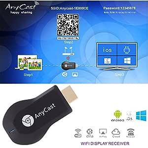 Cofend DLNA 1080p WIFI Pantalla TV Stick Mini M2 Plus
