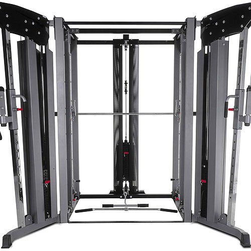 BodyCraft Jones Light Commercial Complete System with Lat Attachment, Cable Crossover and 7in Power Bar (Smith Machine Commercial compare prices)
