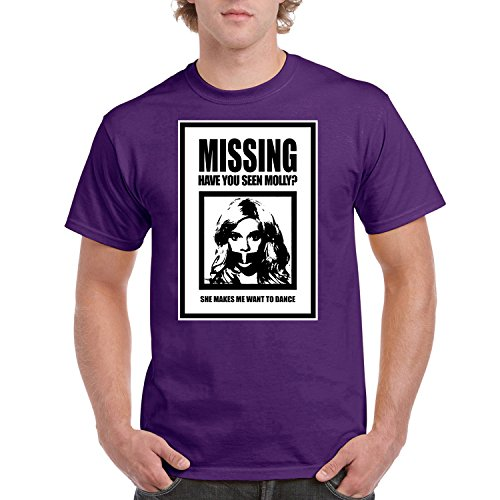 YSM Missing Molly Have You Seen Molly Poster She Makes me Want to Dance T-Shirt
