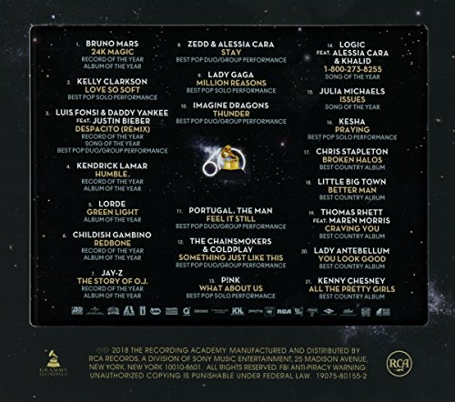 Large Product Image of 2018 GRAMMY® Nominees