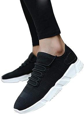 Hombre Zapatillas de Running Zapatos de Gimnasia para Caminar de ...