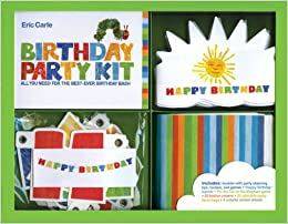 The World of Eric CarleTM Birthday Party Kit All You Need for the