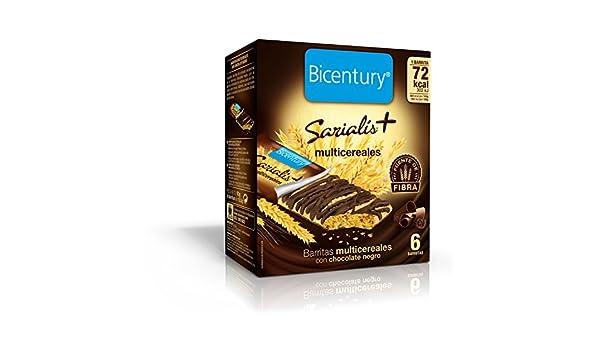 Bicentury - Barrita Multicer.Deco.Choco/Negro Sarialís +: Amazon.es: Alimentación y bebidas