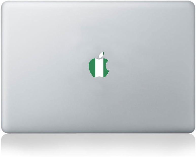 Apple Flag of Nigeria Vinyl Sticker for MacBook (13/15) or Laptop