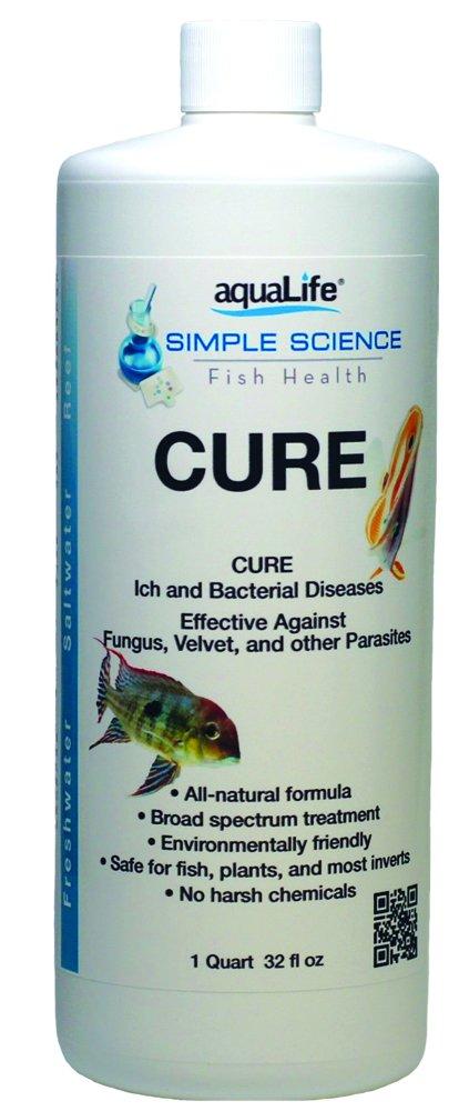 Aquarium Life Support Systems Cure 32oz Treats 1, 920 gallon