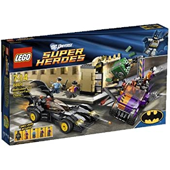 LEGO Super Heroes Batmobile and the Two Face Chase