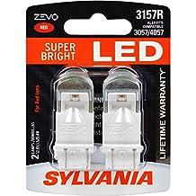 SYLVANIA ZEVO 3157 Red LED Bulb (Pack of 2)