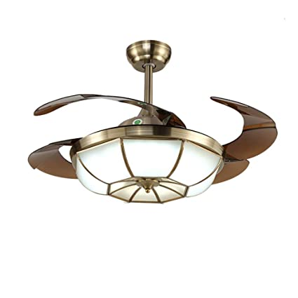 Lighting Fans 42 Invisible Ceiling Fan Lights With Remote Control