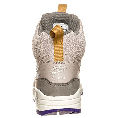 Nike Air Max 1 Wmn Metà Snkrbt Womens Scarpe Da Ginnastica, Med Orewood Brn / Piatto Di Peltro / Viola Corte / Vela, 10 B (m) Noi