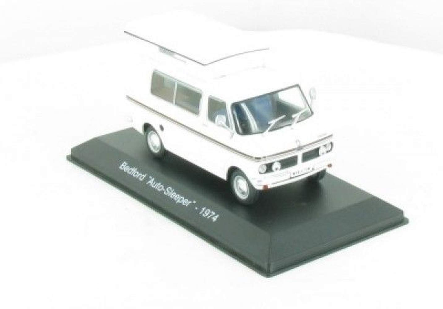 HERCHR Car Sleeper Model Camper, 1/43 Ixo Bedford Collection, White