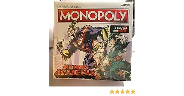 USApoly Exclusivo Mi Hero Academia Exclusivo Gameboard: Amazon.es: Juguetes y juegos