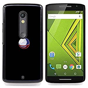 For Motorola Verizon DROID MAXX 2 / Moto X Play - P0Keball P0Kemon /Modelo de la piel protectora de la cubierta del caso/ - Super Marley Shop -