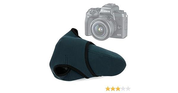 DURAGADGET Funda de Neopreno Reversible para Cámara Canon EOS M5 ...
