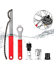 5 delige set Fiets Cassette Removal Tool, Multifunctionele Fiets Tool Reparatie Set, Zweep Extra Trapas Tool Tandwiel Puller Spaaksleutel