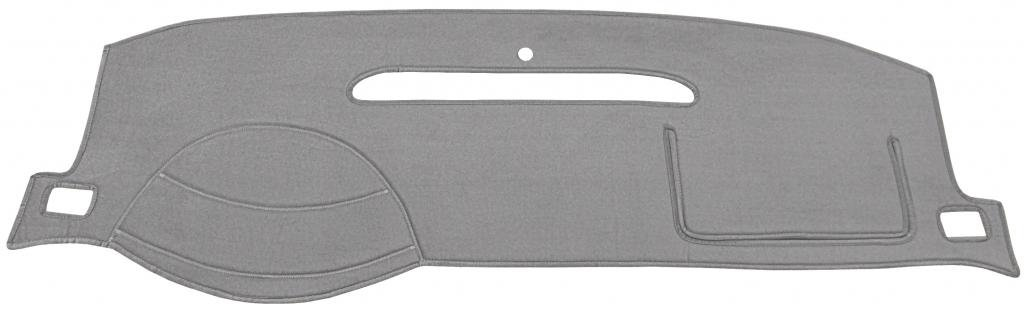 Seat Covers Unlimited Chevy Silverado Dash Cover Mat Pad - Fits 1999-2006 (Custom Velour, Charcoal)