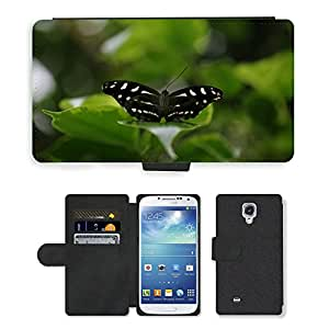 PU LEATHER case coque housse smartphone Flip bag Cover protection // M00113618 Bug Insecto Mariposa Ala Vida Silvestre // Samsung Galaxy S4 S IV SIV i9500