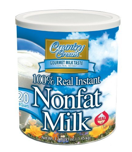 Country Cream 100% Real Instant Nonfat Powdered Milk