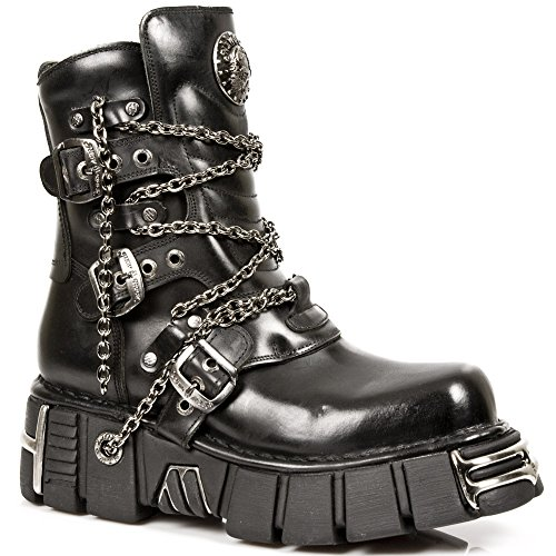 M Black Rock 1011 Boots Metallic S1 New z8IqE8