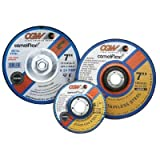 CGW ABRASIVES 37525 4-1/2X1/4X5/8-11 C24-T-BCONCRETE T27 DP CT WHL