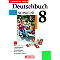 Deutschbuch Gymnasium - Bayern: 8. Jahrgangsstufe - Arbeitsheft mit Lösungen
