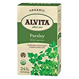 Alvita Organic Herbal Tea Caffeine Free Parsley -- 24 Tea Bags