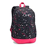 Under Armour Girls' Favorite Backpack, Black/Metallic Silver, One Size