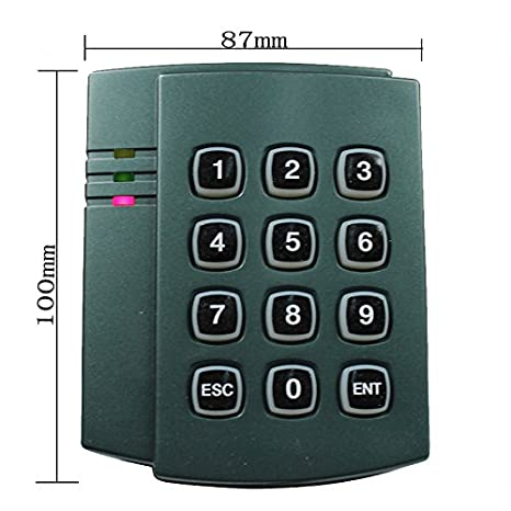 amazon com : network 4 doors entry control system kit with waterproof keypad  reader+waterproof magnetic lock +exit button+rfid keyfobs/cards : camera &