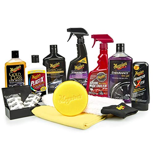 MEGUIAR'S G55032SP Complete Car Care Kit (Best Auto Interior Cleaning Products)